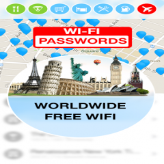 WiFi Map - Passwords