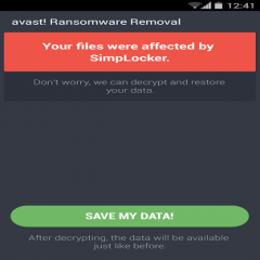 Avast Ransomware Removal