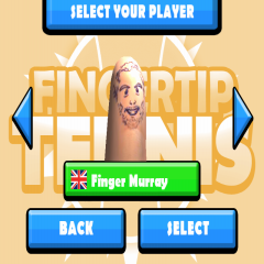 Fingertip Tennis