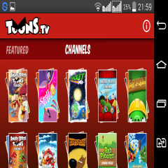 ToonsTV: Angry Birds video app