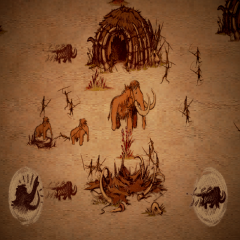 The Mammoth A Cave Painting
