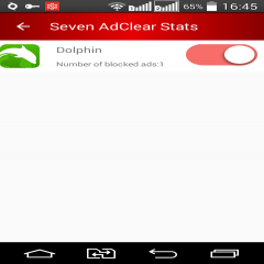 AdClear ad blocker for Android