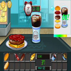 Burger Street: Cooking game