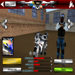 Police Motorcycle Crime Sim