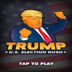 Trump. U.S. Election Rush