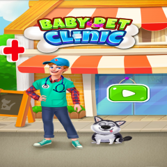 Baby Pet Clinic Vet Doctor