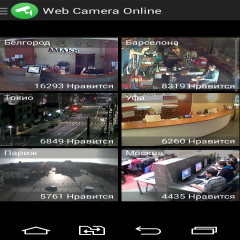 Web Camera Online CCTV IP Cam