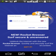 Rocket VPN: Internet Freedom