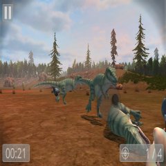 Deadly Dino Hunter: Shooting
