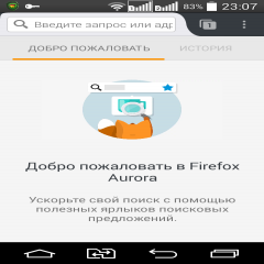 Firefox Aurora for Developers (Unreleased)