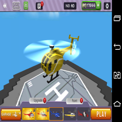 Blocky Helicopter City Heroes