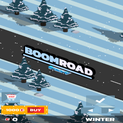 Boom Road 3D drive and shoot