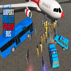 Airport Police Prison Bus 2017