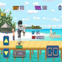 Maldives Friends: Pixel Flappy Fighter