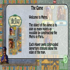 Metro: the board game