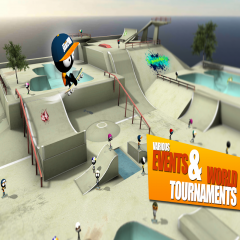 Stickman Skate Battle