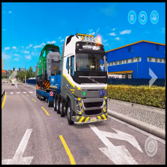Real Euro Truck : Driving Simulator Cargo Delivery