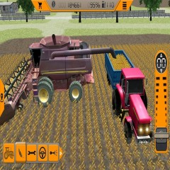 Tractor Driving in Farm: Extreme Transport Games