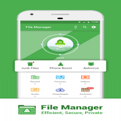 File Manager: Efficient, Secure, Private