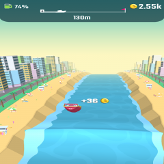 Flippy Boat: catching waves