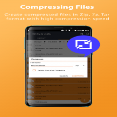 Zip File Extractor: Compressor, Unzip, Unrar