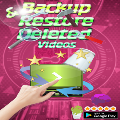 Backup and restore deleted videos