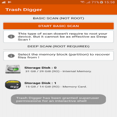 TrashDigger: Any File Recovery