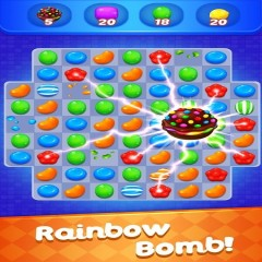 Sweet Candy Witch: Match 3 Puzzle Free Games