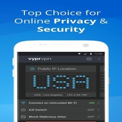 VPN: Fast, Secure & Unlimited WiFi with VyprVPN