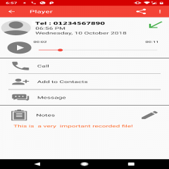Automatic Call Recorder Free