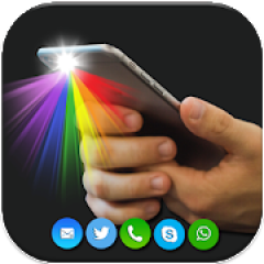 Color Flash on Call & SMS