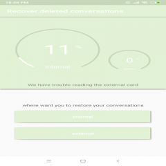Recover Deleted Conversations