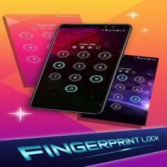 Lock screen: Fingerprint support