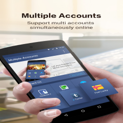 Multiple Accounts: Parallel App