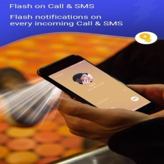 Flash Alert on Call and SMS