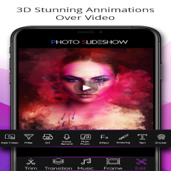 Photo Video Slideshow with Music, Easy Video Maker