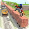 Tricky Bike Train Stunts Trail