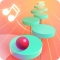 Splashy Tiles: Bouncing to the Beat