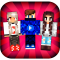 Skins YouTubers for Minecraft PE