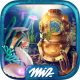 Hidden Objects: Submarine Monster