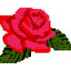 Flowers Color by Number,Pixel Art,Sandbox Coloring
