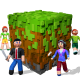 RealmCraft 3D Free with Skins Export to Minecraft