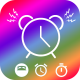 Alarm Clock: Wake up, Relaxing music, fitness