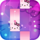 Magic Cat Piano Tiles: Crazy Tiles Pink Girly