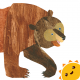 Brown bear: bestial parade