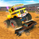 Accident monster truck demolition