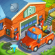 Rescuers: Time Management Game