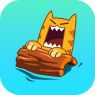 Splashy Cats: Endless ZigZag
