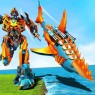 Transforming Robot Shark: Robot transformation