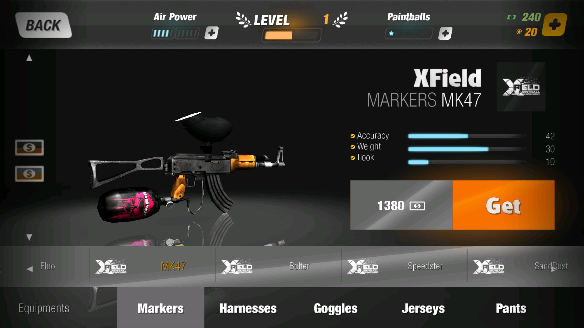XFP2 - XField Paintball 2 – ¡Juego de disparos multijugador gratuito! El primer juego 3D de deporte de paintball y airsoft para móvil y tablet.